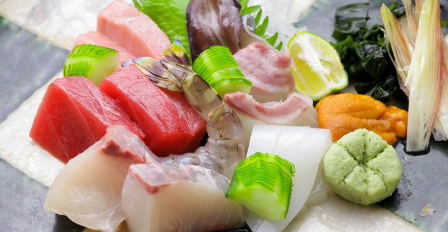 寿司 みず田のお造り